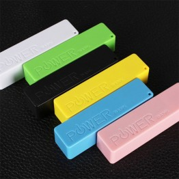 Portable Charger Power Bank For Samsung, Android, iPhone Cell Phones iPads, iPods & Tablets, Waterproof 2200-2600 mAh Capacity