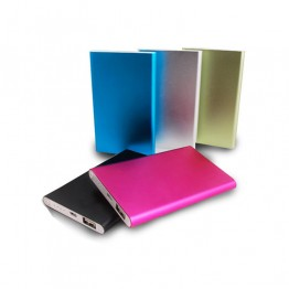 Portable Phone Charger 5000mAh Power Bank Lightweight Backup Battery External Battery Pack