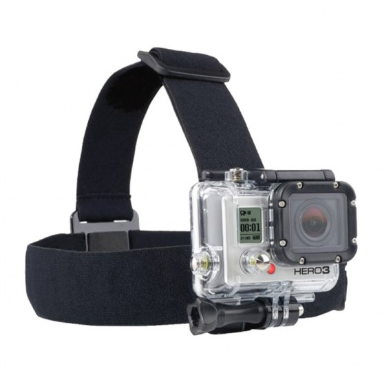 Waterproof Head strap Camera Mount band kit Gopro head band accessories for Gopro Camera