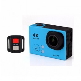 2.0 Inch Sunplus SPCA6350 HD 170 Degrees Wide Angle 30M Waterproof LTH2R 4K Action Camera with remote