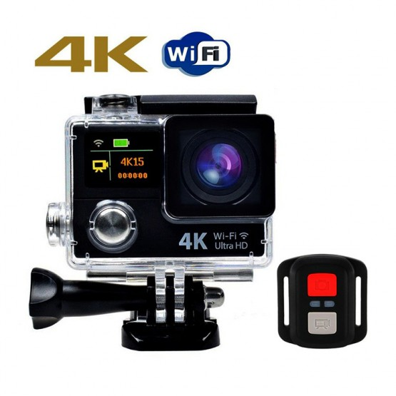 HD sports 4K action camera wifi waterproof dual screen DVR sports action camera LTH3R for travelling