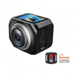 New Action Camera LTR360 Wide angle 190 degree WiFi VR camera 1920 /30fps full HD 1.5 Screen 2.4G wifi remote control CAM